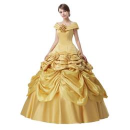 abiti liberi quinceanera Sconti Spedizione gratuita Vestidos De Debutante 2018 Nuovo fuori dalle spalle Ball Gown Quinceanera Abiti Custom Made Prom Dress