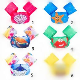 Wholesale Battery Operated Toy Animals - Infant Inflatable Swim Ring Baby swim neck Float Laps Baby Swimming Learning Ring Swimming pool accessories T1I283