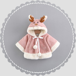 однолетние платья девочке Скидка 2018new style baby girl clothes and baby boy clothes Winter Reindeer christmas dress cute costume One to three years old