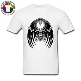 9407e0cec40 Predator T Shirts 2018 Fashion Short Sleeve Mens Top T-shirts Summer O Neck  Tshirt Fitness Tight Slim Fit Sweatshirt Skull