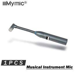 Batterie microfoni online-Buona qualità Microfono per strumenti musicali !! Microfono professionale a condensatore cardioide a percussione a collo d'oca 98AMP Drums