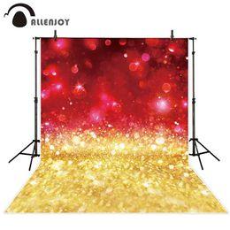 Argentina venta al por mayor de fondo de pantalla de papel tapiz brillo oro rojo bokeh chispa shimmer brillo fiesta celebración de lujo fotografía de fondo cheap wholesale glitter wallpaper Suministro