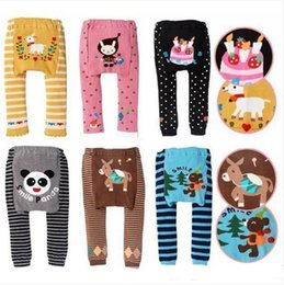 Wholesale busha tights - DHL 2016 new kids cute Toddler 90 designs original Busha PP Pants Baby Warmer Leggings Tights Baby Trousers Toddler Pants C287