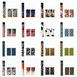 Argentina Pegatina para Juul OEM Envolturas para Juul Kits Cubierta de papel personalizada Pegatina Piel de cigarrillo electrónico con logotipo para Juul Kits Cartuchos Vainas Suministro