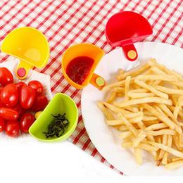 sabor de tomate Rebajas Cocina Condimento Plato Clip Salsa de tomate Sal Vinagre Sabor Especias Clips Sauce Creative Bowl Kit Herramientas