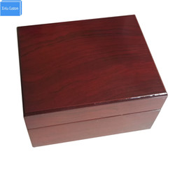 Wholesale Custom Shipping Boxes Wholesale - Box Factory Sale Wooden Promotion Event Jewelry Gift Watch Box&Cases Custom Size 13.4*10.7*7.6cm, May Custom LOGO Drop Shipping