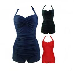 Senhoras mais maiôs on-line-Moda feminina plus size M-4XL maiô senhora sexy push up one-piece swimsuit maiô maiô top quality