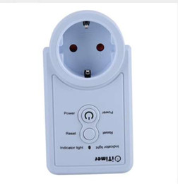 Enchufe de enchufe de enchufe inteligente de la UE Enchufe de enchufe de poder con sensor de temperatura Control de comando de SMS Versión en inglés / ruso Opcional desde fabricantes