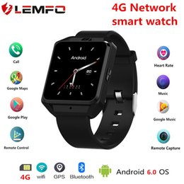"Wholesale Arrival Tracker - 2018 New Arrival M5 4G Smart Watch with Android 6.0 WCDMA WiFi Bluetooth Smartwatches GPS 1.54"" Display"