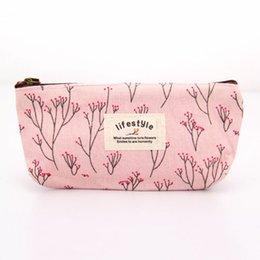 Wholesale vanity bag travel - Wholesale- Beautician Vanity Neceser Necessaire Women Travel Toiletry Pencil Make Up Makeup Case Storage Pouch Cosmetic Bag Purse Organizer