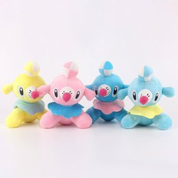 "Wholesale Hot Dog Stuffed Animal - Hot Sale 10pcs Lot 7"" 18cm Popplio And Dog Plush Stuffed Animals Doll Toy Gifts for kids"