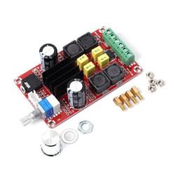 Audio-kondensatoren online-Kostenloser Versand! 1 teil / los XH-M189 TPA3116D2 Digitale Leistungsverstärker Bord Dual Channel Stereo Überspannung Große Kapazität Kondensator Audio Amplif