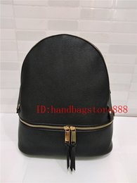Wholesale Branded Handbags For Girls - 2017 NEW arrival women brand MICHAEL KALLY backpack bags pu quality handbags for young girls women luxury shoulder tote bag purse