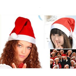 kids novelty christmas hats Coupons - Santa Claus Hat Red Christmas Cosplay  Hats Adults Kids Christmas 3fcbc81e83eb