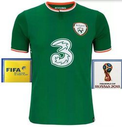 Wholesale Ireland Soccer Jersey - Thailand 2017 2018 Ireland soccer jerseys Republic of Ireland national jersey 2018 World Cup RepublicDaryl home away football soccer shirts
