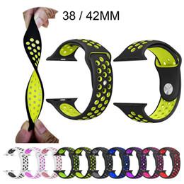 Wholesale 31 farben instock sport silikonband für apple watch band armband armband gummi iwatch armband vs fitbit