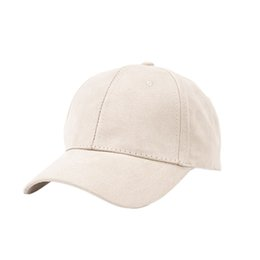 4dee8090268 Discount winter cap couple - 2018 trend suede solid color light board  climbing cap fashion simple
