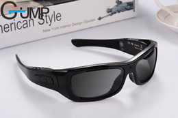 Wholesale Video Camera Headset - Fashion Upgraded Version DV smart sunglasses Bluetooth stereo headset polaried Sport Camera Digital Video HD Camera sunglasses