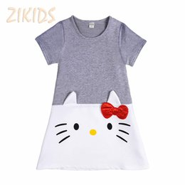 eeeff1b82 Hello Kitty Clothes For Girls Canada - Lovely Hello Kitty Baby Girl Dress  Cotton Dresses for