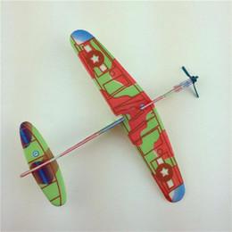 nuovi bambini giocattoli del gioco del cervello modello aliante mano fai da te getta modello di aeromobile per giocattoli per bambini da
