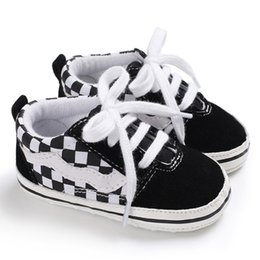 Wholesale kids shoes pairs - 2018 Fashion New 1 Pair Autumn Baby Shoes Kid Boy Girl Fox Head Lace Cotton Cloth First Walker Anti-slip Soft Sole Toddler Sneaker