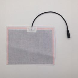 12v sitzheizung online-12 V Elektrische Kohlefaser Beheizte Pads für Winter Daunenheizung Jacken Weste Auto Kissen Sitz Haustier Matte 20 cm * 15 cm Tragbare Heizung