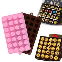 schokoladengebäck Rabatt DIY silikon Emoji ausdruck schokoladenform, hochzeit küche backen Pastry Tools Kuchen Formen süßigkeiten und schokoladenformen