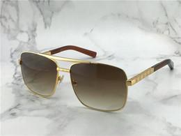 очки мужские Скидка популярные классические мужские открытые солнцезащитные очки отношение Золотой квадрат дизайн рамка uv400 защиты очки старинные летний стиль