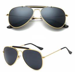 dc986741c3a 10pcs NEW Metal Frame Resin lens Brand Designer men women beach driving  sunglasses UV400 Factory Price Vintage classic styles men 10 colors