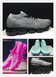 52c8d72ea906 2018 Nouveau Vapormax casual Chaussures Pour femme Sneakers Designer  Formateurs rose gril pas cher mode vente chaude marque taille 36-40  abordable ...
