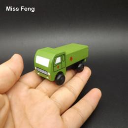 Jouets en bois mobiles en Ligne-Fun en bois modèle de voiture mobile enfants jouets artisanat décoration véhicule enfant apprentissage jouet éducatif bois jeu