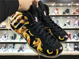 Wholesale pc mid - Free Shipping penny hardaway Basketball Shoes Outdoors Mens Sports Sneakers Training Boots Men Trainers Basketball Boots Mens Athletics