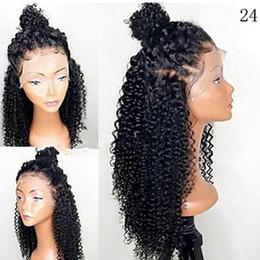 Haute qualité Full Lace perruques de cheveux humains Brésiliens Vierge Cheveux bouclés Lace Front perruques avec des cheveux de bébé sans colle Full Lace perruques ? partir de fabricateur