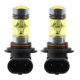 Wholesale Cheap Yellow Lamps - Cheap hb4 bulb 2PCs Set Durable Daytime Running Light DRL 9006 HB4 Fog Bulbs High Power 100W Yellow 4300K Replacement Car Lamps