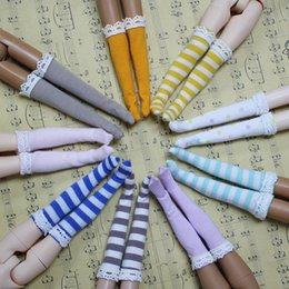 Wholesale Doll Socks Wholesale - Free shipping Blyth doll socks with differents color suitable for Rubber and Joint body doll Factory Blyth
