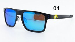 Wholesale Polarized Cycling Sunglasses Lens - 1pc High Quality Classic Sunglasses Polarized lens Designer Mens Womens Sun Glasses Eyewear Sports Cycling Outdoor Metal Frame