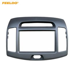 Kits de coches chinos online-FEELDO Car 2Din DVD Fascia Frame para Hyundai Elantra 2006 (chino) Stereo Face Panel Installation Trim Kit # 5152