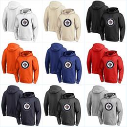 números de sudaderas Rebajas Winnipeg Jets Hoodies Jerseys 100% Costura Bordados Logos Hockey Cualquier jugador o número Stitch Sewn Hoodies Jerseys Sudaderas