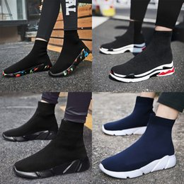 Wholesale cheap adult shoes - Cheap Original Outdoor adults trainers summer Running Shoe for Men woman sock footwear sport athletic unisex breathable Mesh female Sneakers