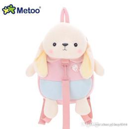 30 centimetri Metoo farcito peluche animale bambini Sacchetti di plastica del fumetto bambola giocattolo bambini borsa a tracolla per asilo zainetto peluche zaini da zaino khaki dei capretti fornitori