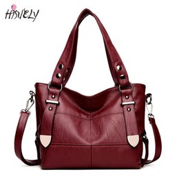 arrow handbag Promo Codes - 2018 New Fashion Women Luxury PU Leather Handbag Female Designer Shoulder Bag Casual Shopping Tote Double Arrow Soild Bag TOP