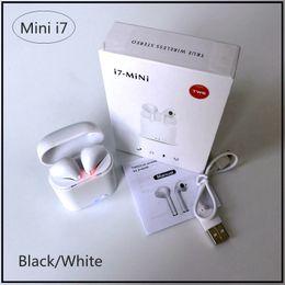 I7 Mini TWS Twins Drahtlose Bluetooth Ohrhörer Ohrhörer Mini i7 Bluetooth Kopfhörer mit Ladegerät Dock für iPhone 7 8 IOS Android MBH von Fabrikanten
