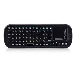 Флип-клавиатура онлайн-2.4G Wireless Keyboard 90 Degree Touchpad Mouse Flip Mini Multi-touch Portable Gaming Keyboard For PC Laptop TV Android TV