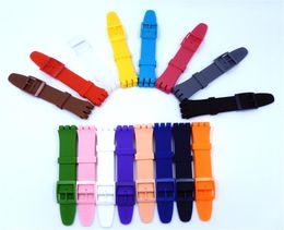 Argentina XBERSTAR correa de reloj pulsera para 16 mm 17 mm 19 mm 20 mm accesorios de correa de silicona de caucho supplier wrist watch accessories Suministro
