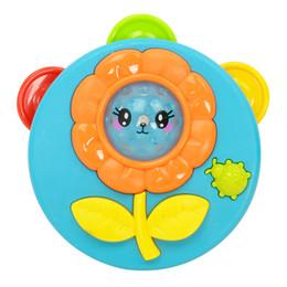 Plastiques précoces en Ligne-En plastique Mini Tambourins Early Childhood Rattle Jouets bébé Éclairage électrique Musique Tambourin Coloré Usine Vente Directe 4 2hy X