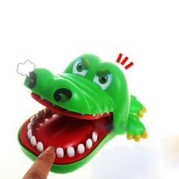 Wholesale Plastic Crocodiles - 2018 Hot Crocodile Jokes Mouth Dentist Bite Finger Game Joke Fun Funny Crocodile Toy Antistress Gift Kids Child Family Prank Toys