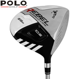 Wholesale high beginner - POLO Authentic Golf Club Drivers #1 Wood 10.5 R Kick-off Wood Fairway 114 CM High Quality Men Beginners Wooden Right Hand Driver