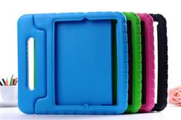Canada 3D Mignon portable enfants Safe Foam ShockProof EVA Cas Antichoc Poignée Couverture Stand Pour iPad 2 3 4 air 2 supplier ipad mini shockproof cover Offre