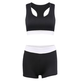 Женская одежда онлайн-Wholesale- Hot Womens New Fashion Running Clothing Athletic Apparel Ladies Sports Suit Women Sports Wear Set