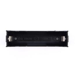 """Caixa de armazenamento de pinos on-line-10 Pçs / lote 18650 Suporte de Bateria Caso de Armazenamento para 1 único 18650 3.7 V """"com Pin 18650 caixa de Bateria"""